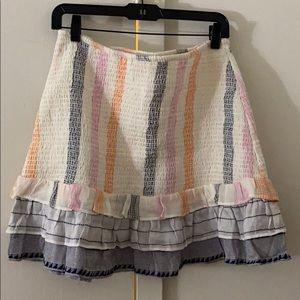 Tularosa Stretch mini skirt.. and crop top